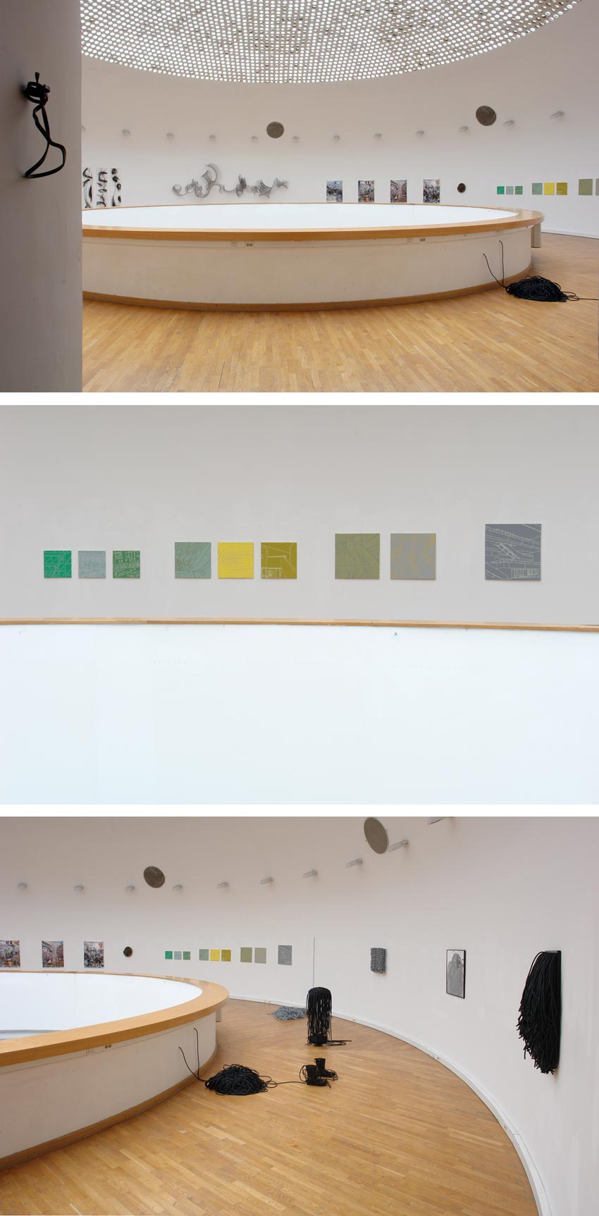 Tobias Gossow - Malerei - Line Source