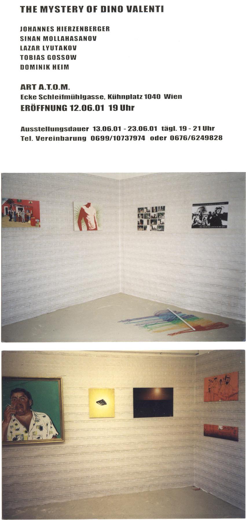 Tobias Gossow - Malerei - Dino Valentini - Ausstellung