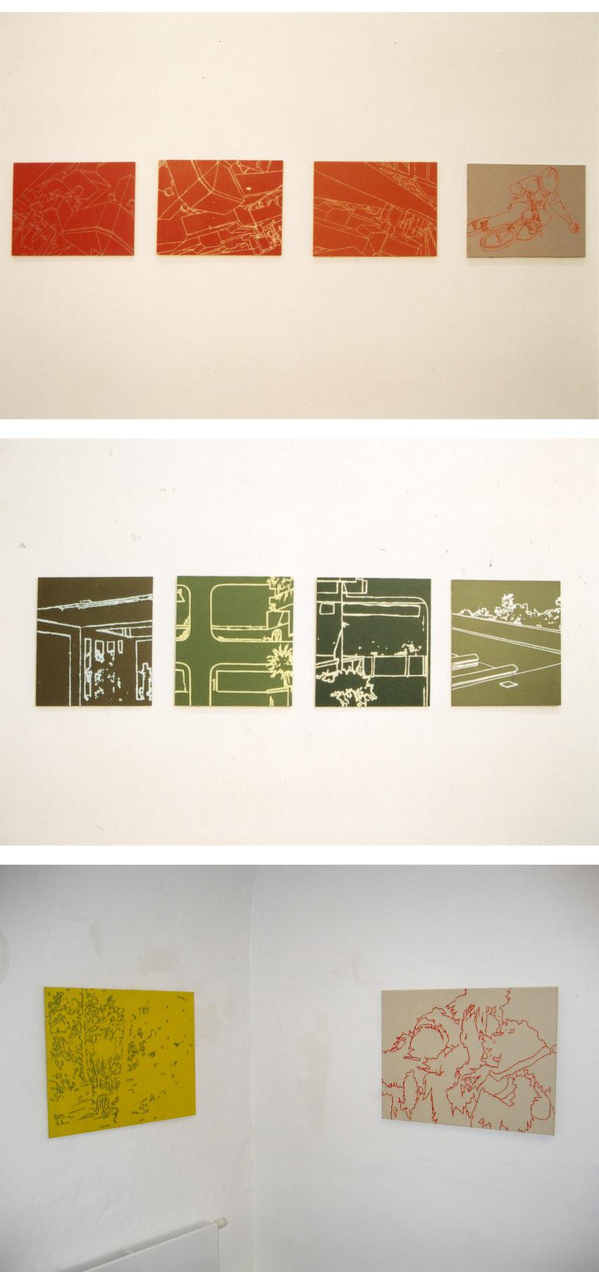 Tobias Gossow - Ausstellung - inddor/outdoor