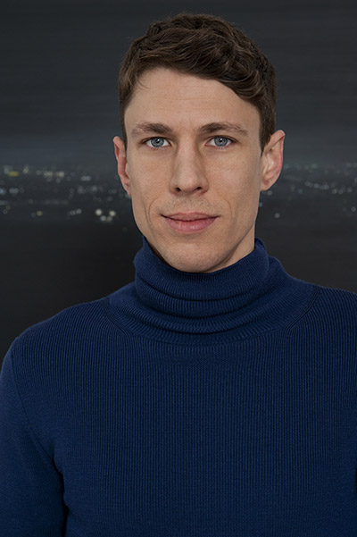 Portrait des Künstlers Tobias Gossow