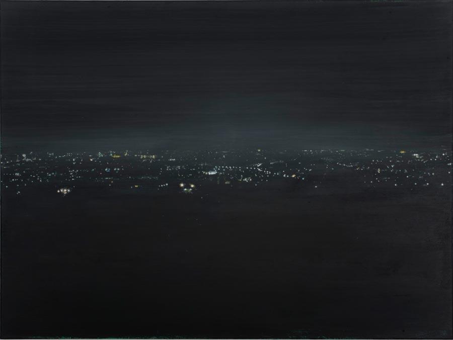 Elo, 2013 / 90 x 120 cm / Acryl auf Leinwand