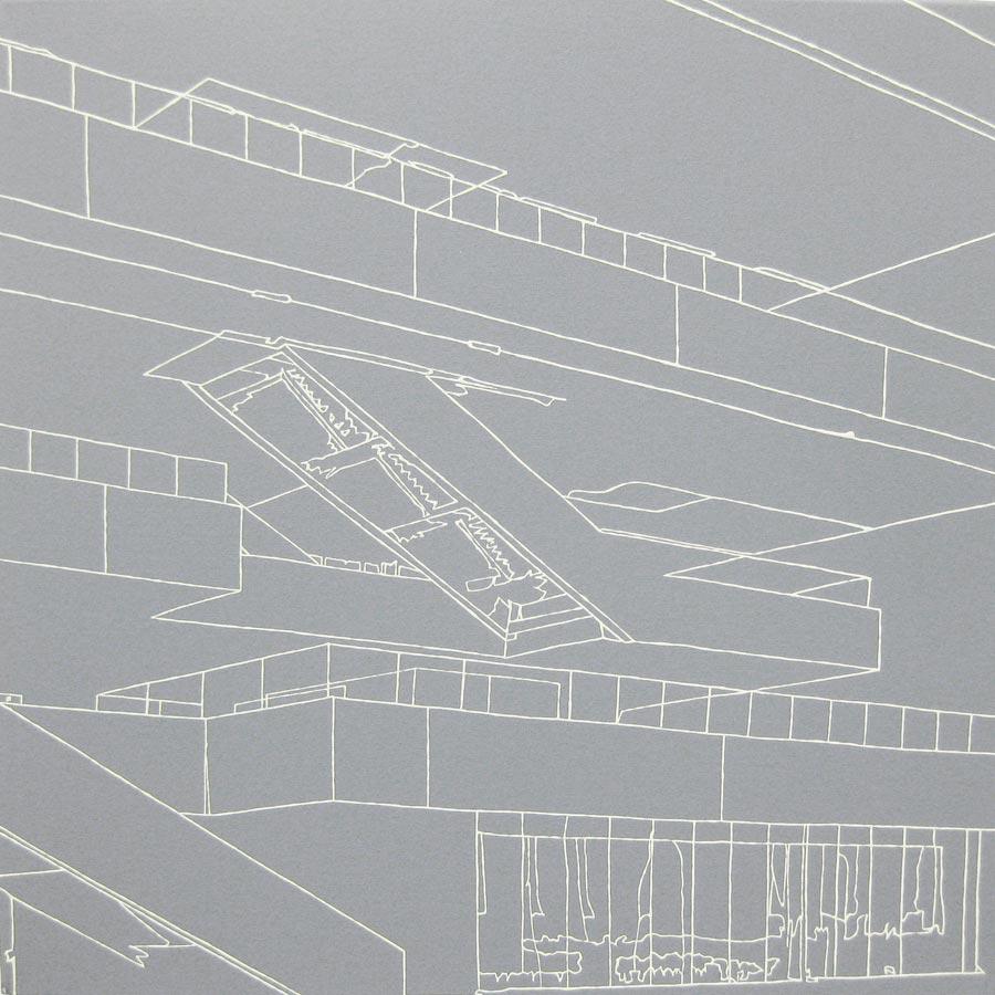 David 2, 2010 / 20 x 20 cm / Acryl auf Molino