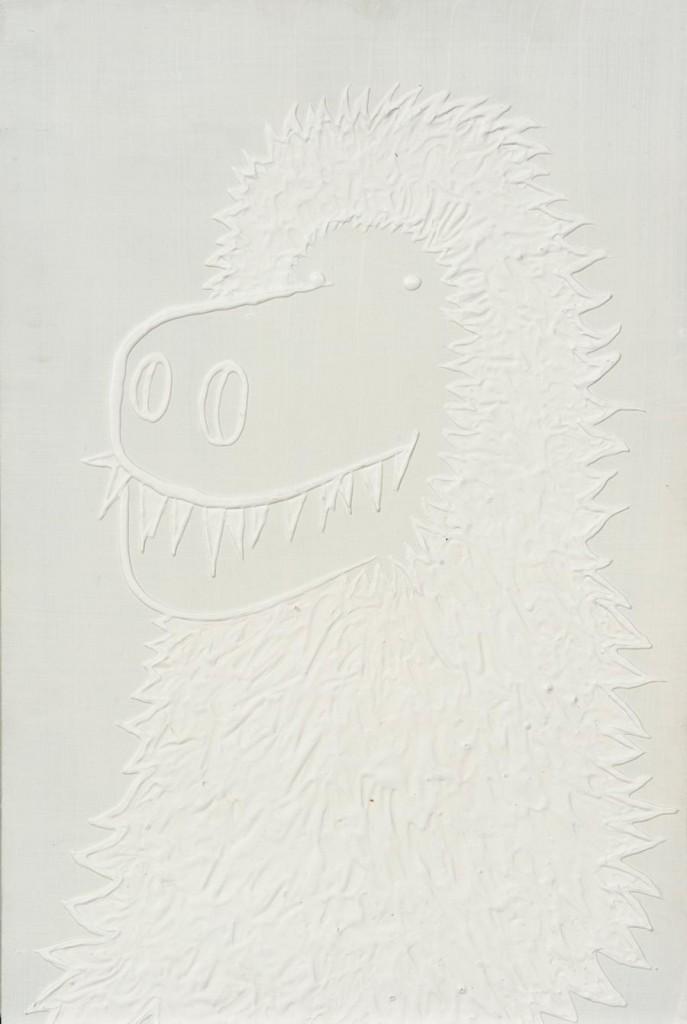 Florian, 2006 / 70 x 50 cm / Acryl auf Holz