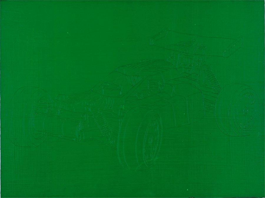 Gregor, 2005 / 60 x 80 cm / Acryl auf Holz