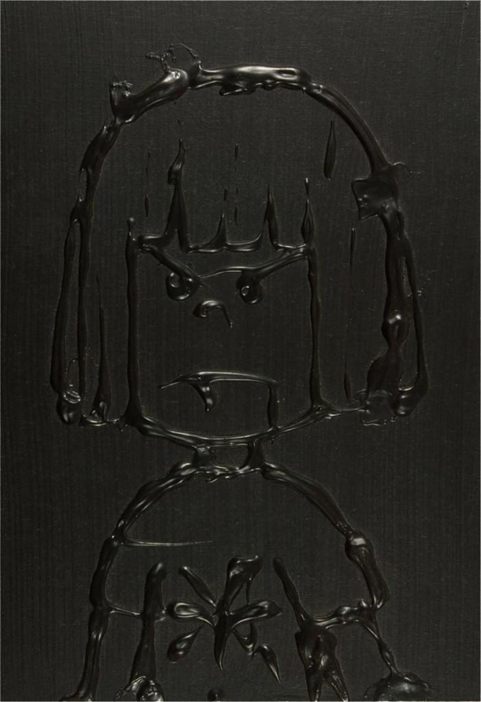Luise, 2004 / 30 x 20 cm / Acryl auf Holz