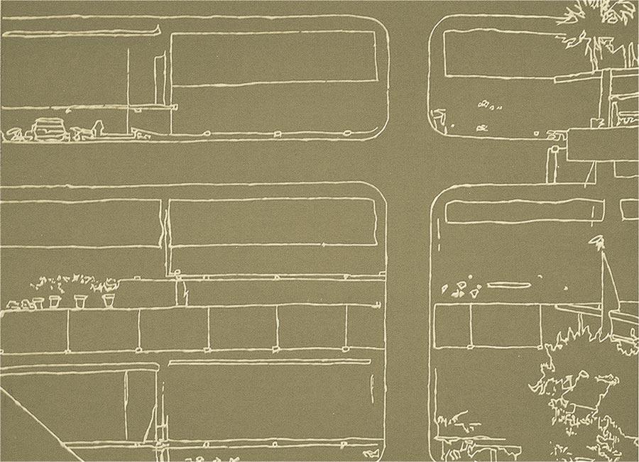 Ohne Titel, 2002 / 30 x 40 cm / Acryl auf Holz