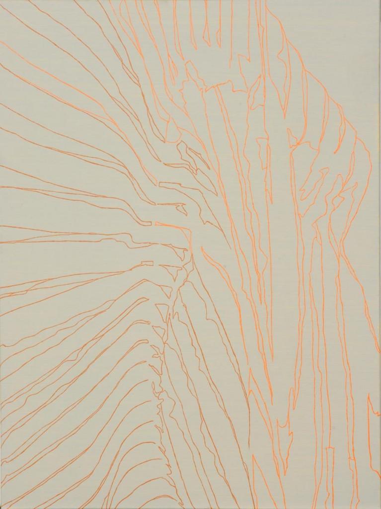 Ohne Titel, 2012 / 70 x 50 cm / Acryl auf Molino
