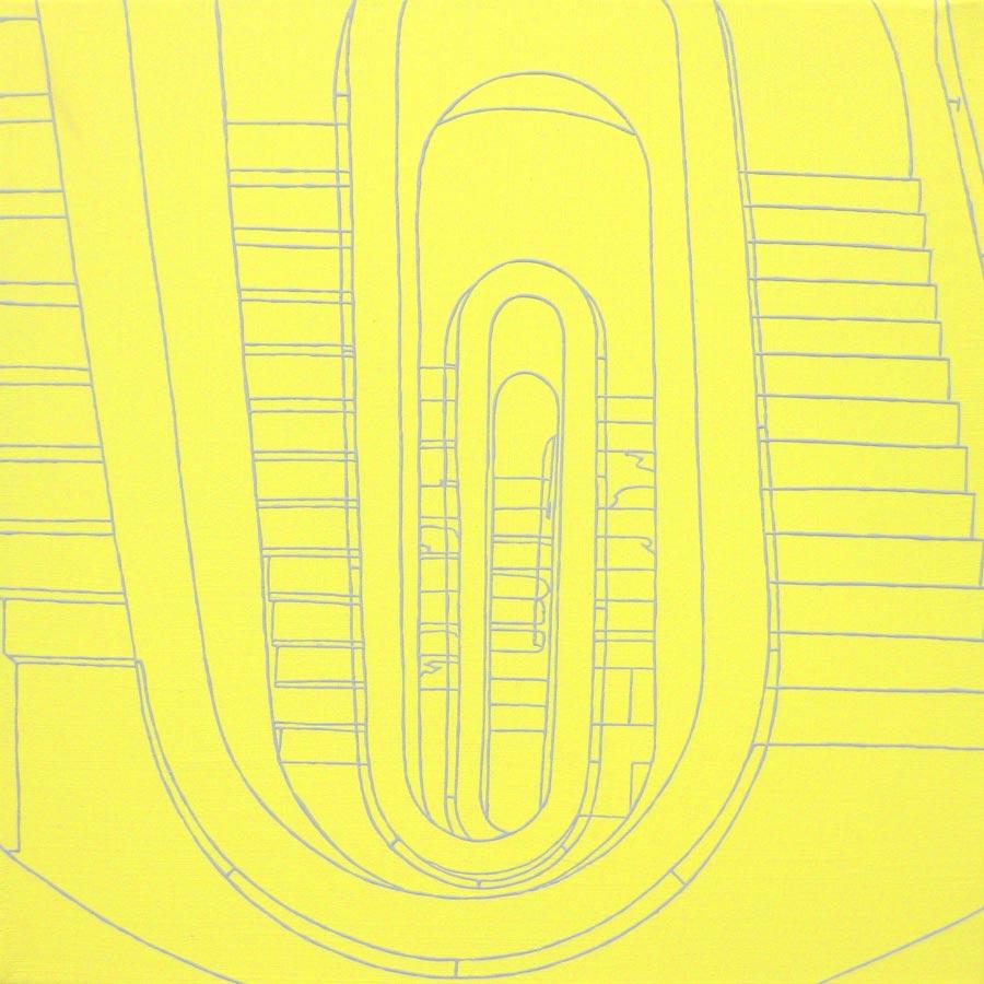 Otto, 2010 / 40 x 40 cm / Acryl auf Molino