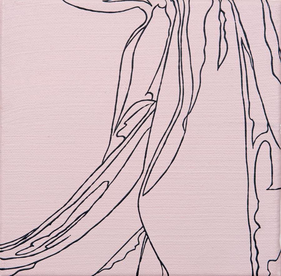 Robert Campin, 2010 / 20 x 20 cm / Acryl auf Molino