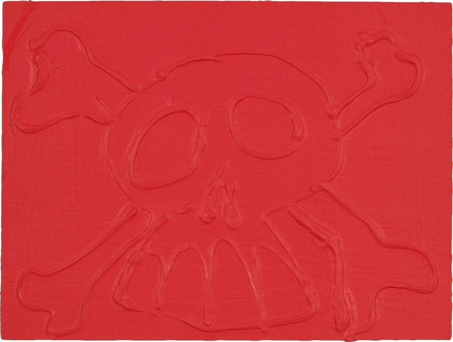 Sabine, 2004 / 30 x 40 cm / Acryl auf Holz