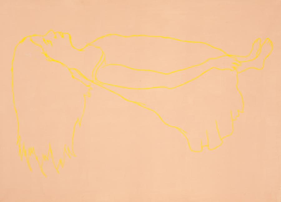 Spuk 3, 2009 / 150 x 100 cm / Acryl auf Leinwand