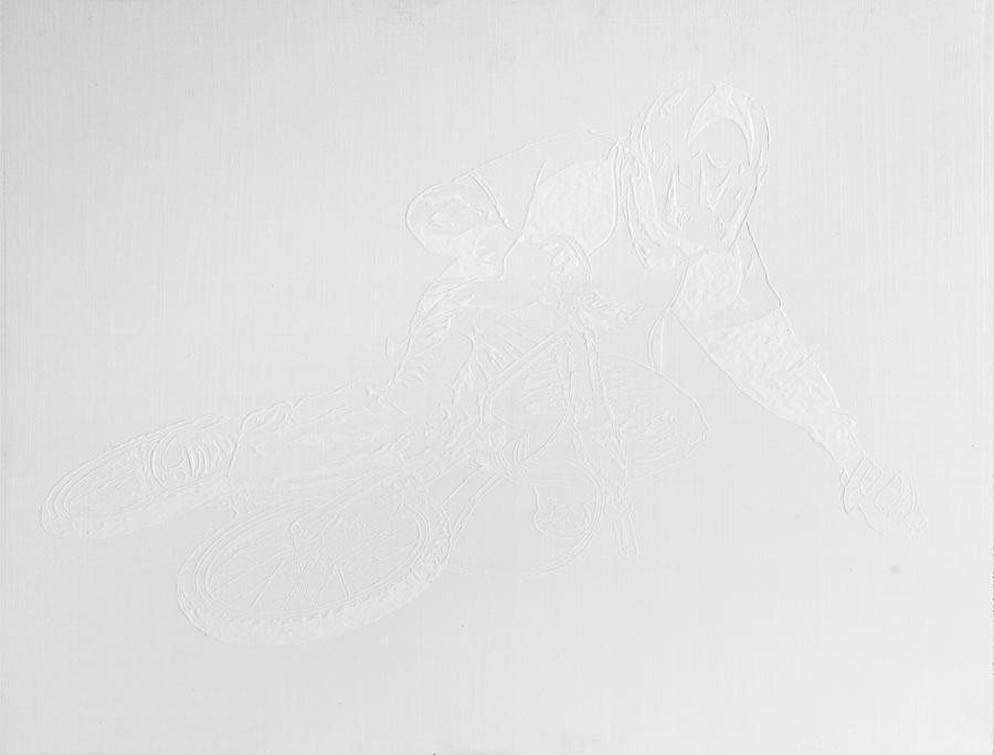 Vivienne, 2007 / 55 x 75 cm / Acryl auf Holz